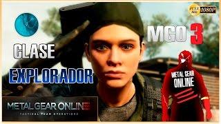MGO 3 - Metal Gear Online 3 Gameplay Español | Clase Explorador Cooperativo | Comm Control