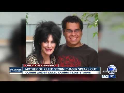 Mother of killed storm chaser speaks out