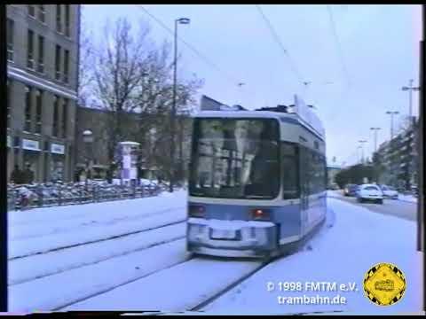 Nikolaustag am Sonntag 1998 im Schnee