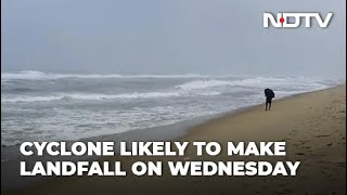Cyclone Nivar Likely To Hit Tamil Nadu Coast By Wednesday Evening