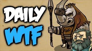 Dota 2 Daily WTF - Midlane things