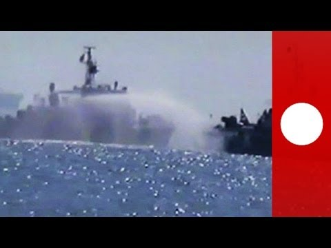 Water cannon battle: China, Vietnam ships clash in oil rig standoff