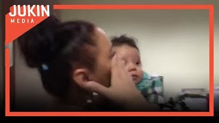 Woman Meets Grandson for the First Time
