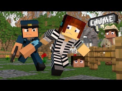 Minecraft : PRESOS NO CHUME LABS !! - ( Polícia e Ladrão)