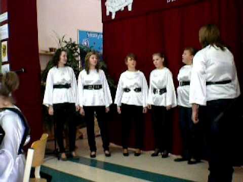 """Kaszubska kolęda w wykonaniu """"Lento"""" z Kostkowa"""