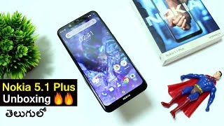 Nokia 5.1 Plus Unboxing & First Impressions || in telugu