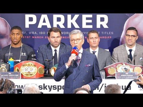 Anthony Joshua vs Joseph Parker FINAL PRESS CONFERENCE