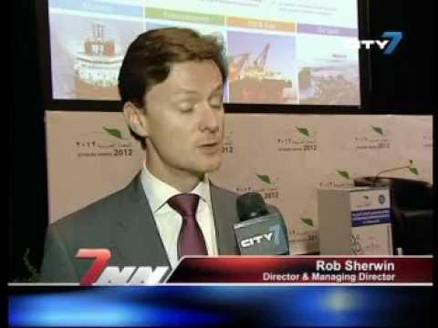 City 7TV- 7 National News- Feature Report- 27 February 2012- Offshore Arabia 2012
