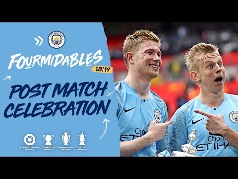 MAN CITY LIFT THE FA CUP   Man City 6-0 Watford, 2019 FA Cup final