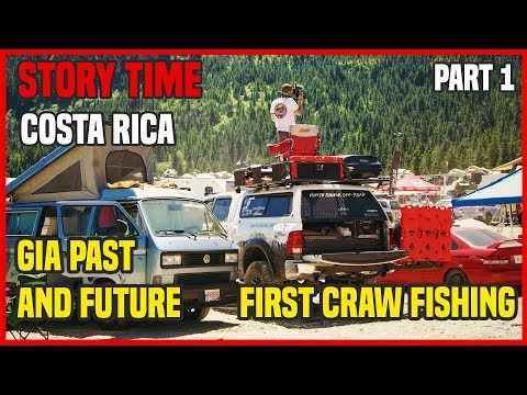 Costa Rica pre Overland trip | GIA History and future | First Craw Fishing part 1