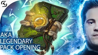 AKAWONDER PACK OPENING - LEGENDARY CARDS (ES)