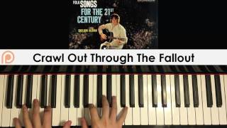 Sheldon Allman Crawl Out Through The Fallout Piano Cover Patreon Dedication 139