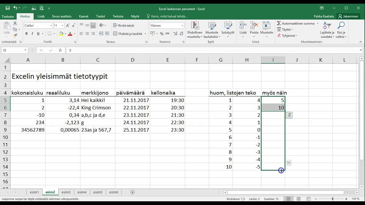 Excel Alkeet