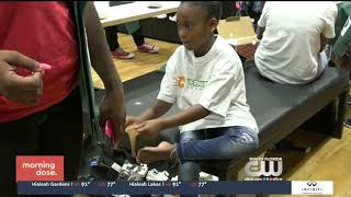 Vernon Carey Foundation Sneaker Shopping Spree The CW