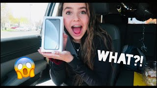 I got a new phone for my birthday!?!