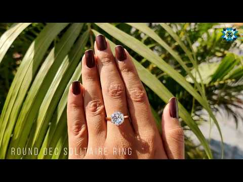 3.76-ct-round-old-european-cut-colorless-moissanite-solitaire-engagement-ring-|-two-tone-ring