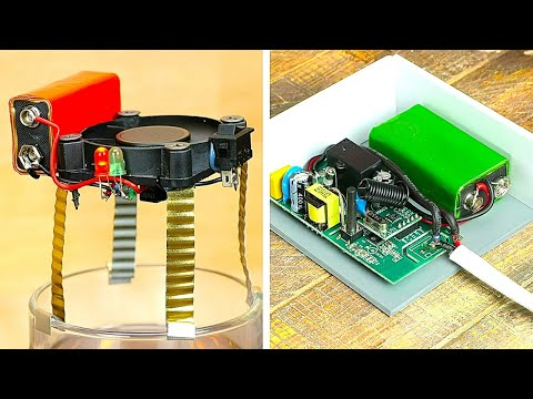 17 DIY ELECTRONIC inventions YOU can create for home