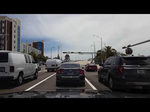 Miami, Fl. Driving from North Miami to Little Havana. May 22,2018.