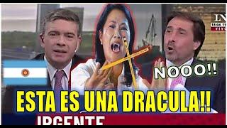 🔥QUE MALO!! PERIODISTAS ARGENTINOS SOBRE KEIKO Y FUERZA POPULAR. PERU ELECCIONES 2021 CASTILLO