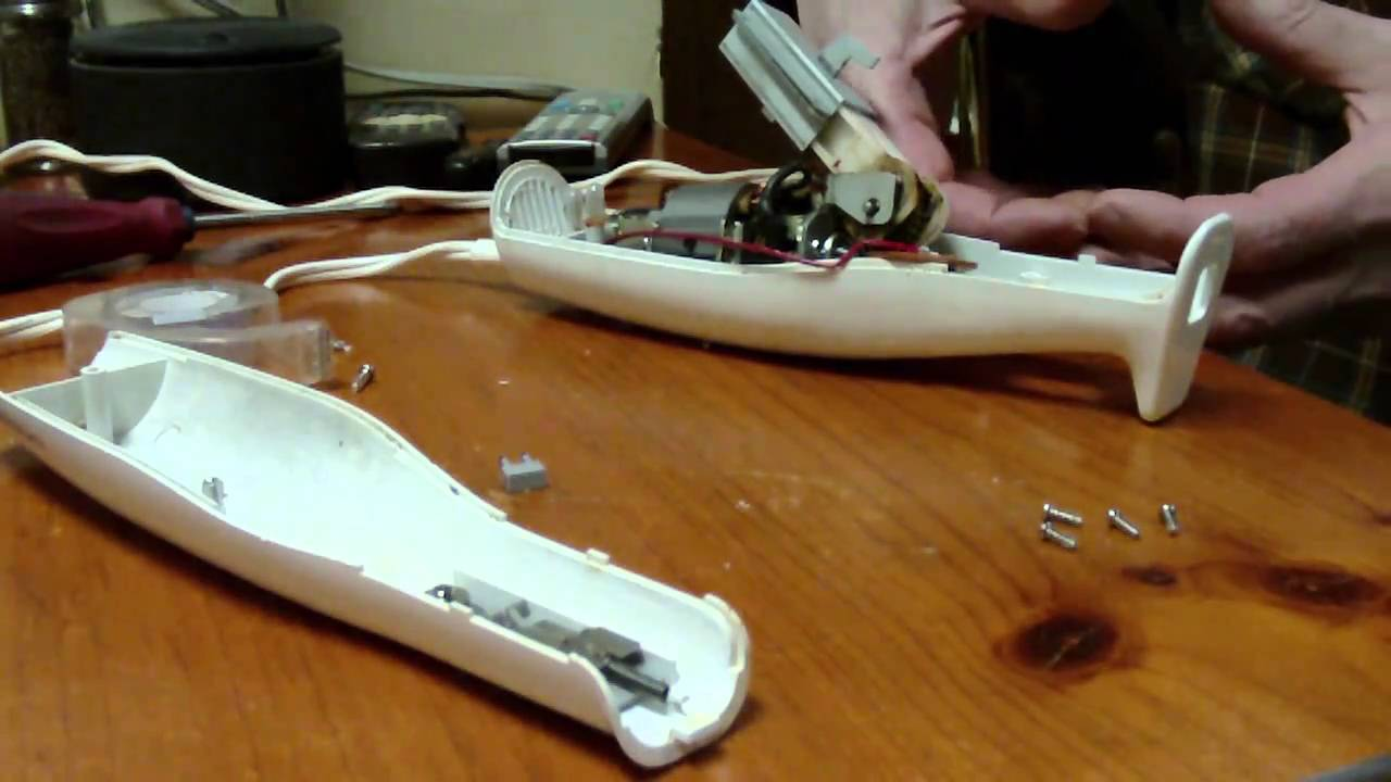 Hamilton Beach Electric Knife Model 74200 Switch Repair