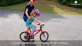 MyVoucherCodes   Learning to ride a bike   Hints and tips