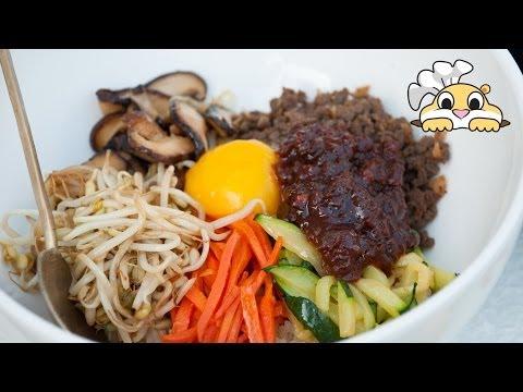 Bibimbap: Bibimbap Recipe 비빔밥