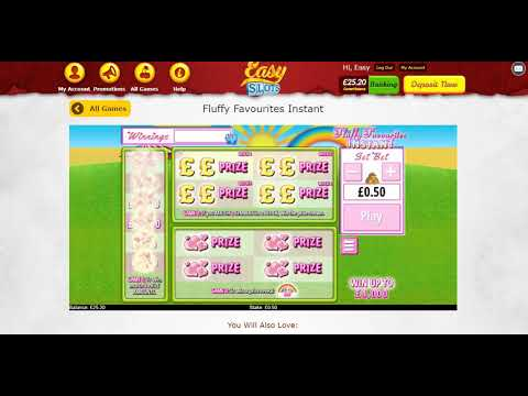 Fluffy Favourites Instant Game On Easy Slots Youtube