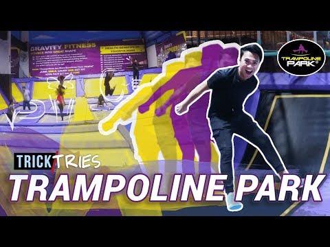 TRAMPOLINE PARK PHILIPPINES - Zero Gravity Zone | TrickTries | TricksterzPH