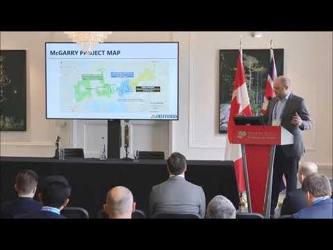 Orefinders investor presentation by Stephen Stewart at CMS 2018
