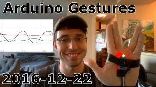 Arduino Gestures with MPU6050 Accelerometer - 2016-12-22