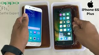 Oppo F1s Vs IPhone 6S Plus Coca Cola Freeze Test For 20 Hours