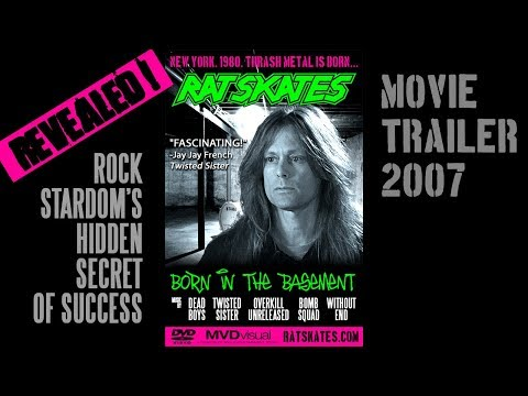 Heavy Metal Music Documentary | 80's Old School D.I.Y. Secrets | Rat Skates- Born in the Basement