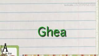 Lirik lagu GHEA - Aku Cinta Kau Dan Dia