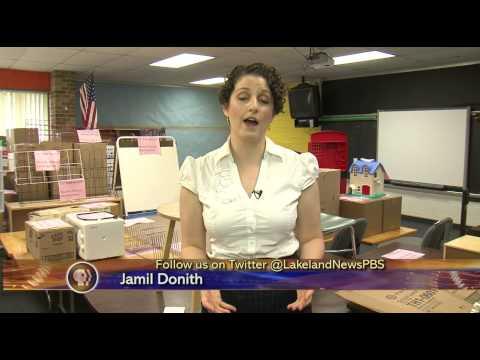 Project to Transform Paul Bunyan Center Into a Kindergarten - Lakeland News at Ten - June 12, 2013
