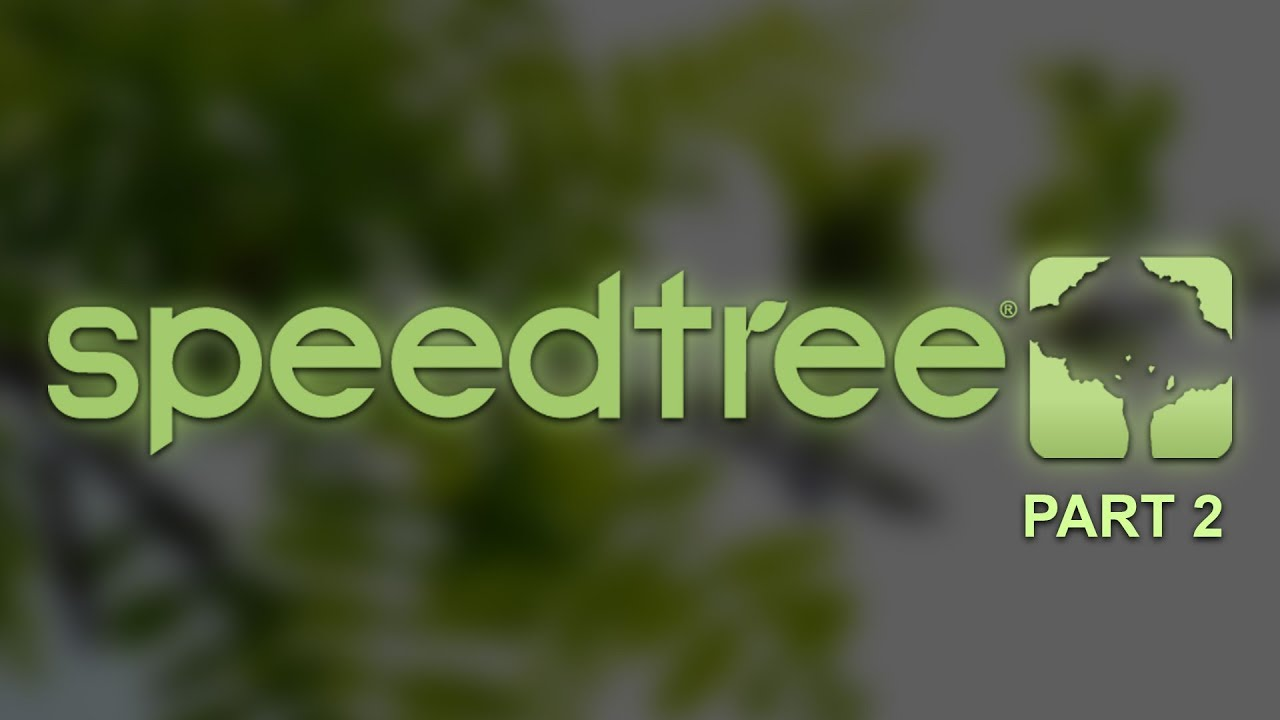 SpeedTree Cinema 8 leaves  HandDrawing mode  Megascans leaves
