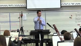 Concert F Sustain, Creekside MS Wind Symphony, Carmel, Indiana