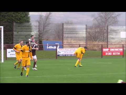 Kelty Hearts v Blackburn, The Conservatory Converters Fife & Lothians Cup 2nd rd, 6/2/16