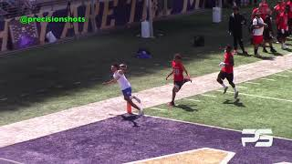 Franklin Pierce Cardinals vs. Hazen Highlanders 7on7 UW 2018