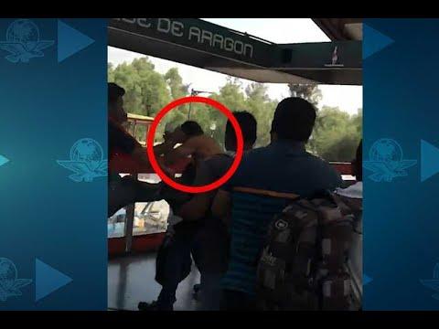 usuarios-del-metro-golpean-a-presunto-ladrón
