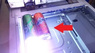 What happens if you photocopy soda can?!