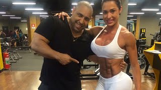 Gracyanne Barbosa workout, part 3: legs & glutes