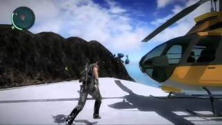 Just Cause 2: Pie Island Easter Egg