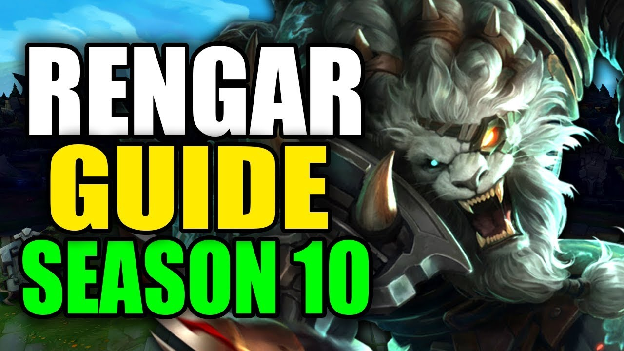 SEASON 10 RENGAR GAMEPLAY GUIDE – (Best Rengar Build, Runes, Playstyle) – League of Legends