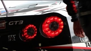 Two NISMO Athletes Test GT-R GT3 at Fuji Speedway