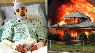 20-Year-Old Saved 3 Kids Trapped In Buring Home. This Is How He Survived...