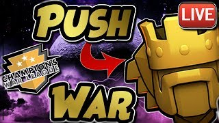 LIVESTREAM | TITANS TROPHY PUSHING | DIVINE JUSTICE CWL WAR | Clash of Clans