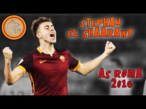 Stephan EL SHAARAWY: all GOALS & SKILLS with AS ROMA
