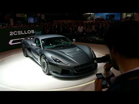 Rimac Rimac C_Two (Concept Two) press conference in Geneva