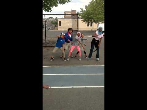 Quitman Street students dancing