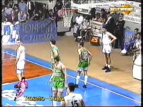 Roseto Lido delle Rose - Robur Lugo 89-83 [1996 finale playoff gara 1]